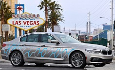 CES 2017: New Generation Autonomous BMW 5-Series Displayed