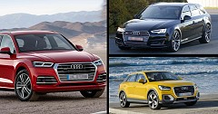Frankfurt Motor Show 2017: Audi Unveiled RS-4 Avant, India-bound Q2 And Latest Q-5