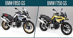 BMW F750 GS And F850 GS Showcased At EICMA 2017