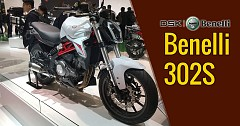 Benelli 302S Launched at EICMA 2017