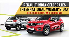 Renault India Celebrates International Women's Day Through Offers and Discounts