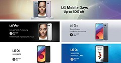 LG Offering Discounted Offers on LG V30+, G6, Q6, Q6+ During LG Mobile Days Sale