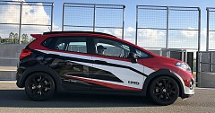 Honda WR-V Turbo Pace Car Showcased In Brazil