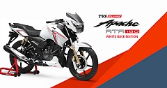 TVS Apache RTR 180 Race Edition Launched; Priced at INR 83,233 (ex-showroom, Delhi)