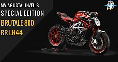 MV Agusta Unveils Special Edition Brutale 800 RR LH44 Roadster