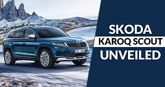 Skoda Karoq Off-road Version 'Scout' Unveiled