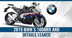 2019 BMW S1000RR and Details Leaked Online Ahead of Imminent EICMA 2018