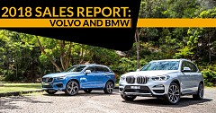 2018 Sales Report: Volvo and BMW survive testing times to record positive growth