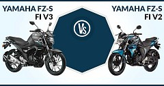 Yamaha FZ-S FI Version 3.0 Vs Version 2.0: Find out the Differences