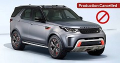 Hardcore Off-Roader, Discovery SVX Production Cancelled by Land Rover