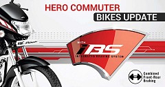 Hero MotoCorp Armed its Commuter Bikes with the Safety of SBS