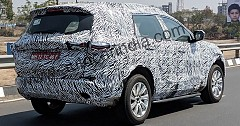 2019 Tata H7X SUV Caught Testing Ahead its Debut at Geneva Motor Show