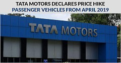 Tata Motors Declares Price Hike on All PVs from April 2019