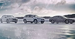 BMW Unveils Latest iX3, i4, and iNext Electric Vehicle During Winter Testing
