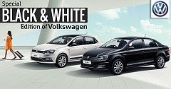 Special 'Black and White' Edition of Volkswagen Polo, Ameo, and Vento Launched