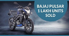 Bajaj Pulsar Surpasses Never Before 1 Lakh Sales Figure Mark in a Month