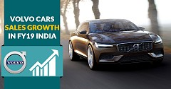 Volvo India Record 25% Sales Growth in FY19