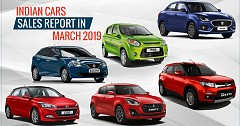 India Cars Sales Report in March 2019