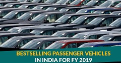 Top 10 Best Selling Passenger Vehicles in India for FY 2019