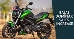 Bajaj Dominar Sales Grew Post Launch of 2019 Edition