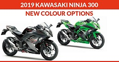 2019 Kawasaki Ninja 300 Furnishes with Two New Colour Options