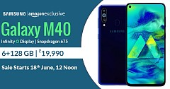 Find Details About New Samsung Galaxy M40 with Triple Rear Camera, Infinity-O display
