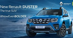 2019 Renault Duster Launched with a Price Tag  of INR 7.99 Lakh