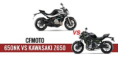 CFMoto 650NK vs Kawasaki Z650: On Paper Specs Comparison of Rivals