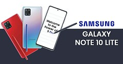 Samsung Galaxy Note 10 Lite is all set to trend in India