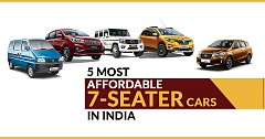 Five Most Affordable 7-Seater Cars In India