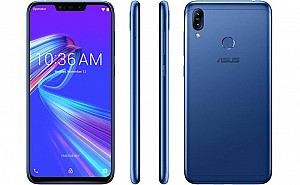 Asus Zenfone Max M2 Front, Side and Back