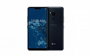 LG Q9 One Front and Back