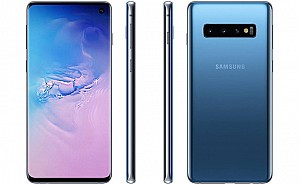 Samsung Galaxy S10 Front, Side and Back