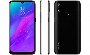 Realme 3 Front, Side and Back