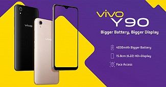 Vivo Y90 with Helio A22 SoC, Face Unlock Features Launched in India