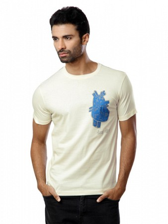 Locomotive men off white t-shirt002