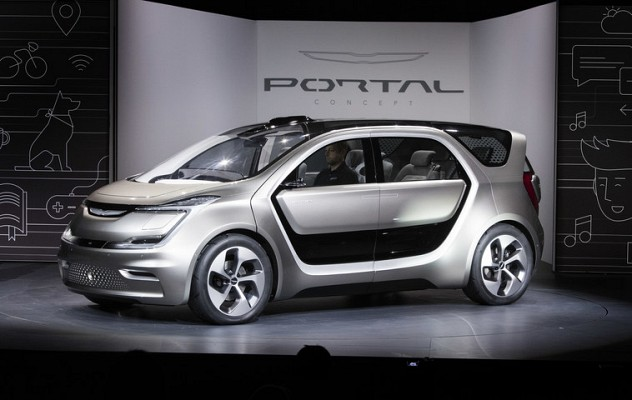 Chrysler Portal All Electric Autonomous Concept Unveiled at CES 2017