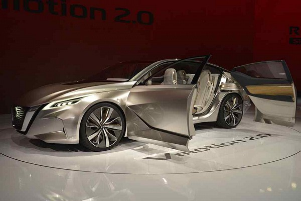 NAIAS 2017: Nissan Vmotion 2.0 Concept Previewed