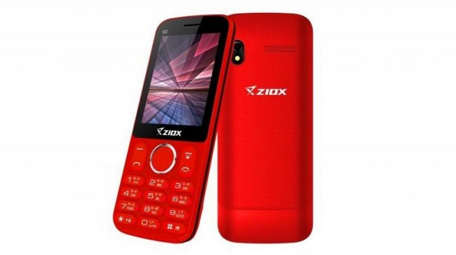 Ziox 02 Feature Phone