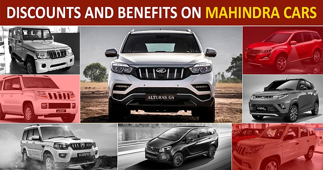 Discounts and Benefits on Mahindra Cars