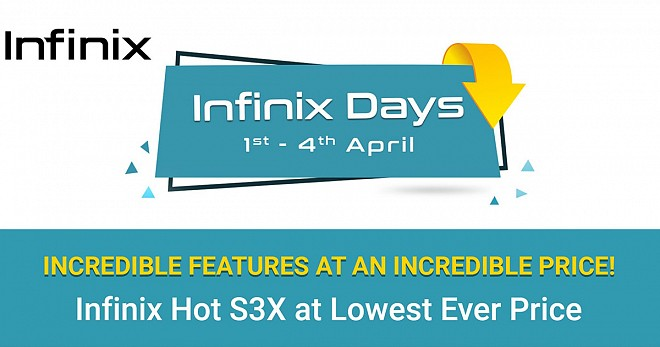 Infinix Days sale on Flipkart