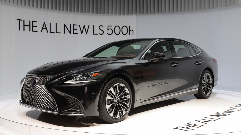 All-new Lexus LS500h