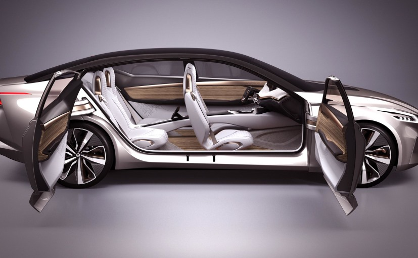 Nissan Vmotion 2.0 Concept with Swing Outward door facility