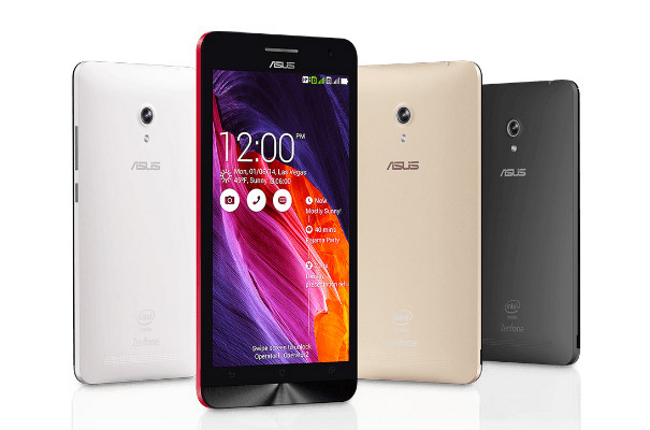 Asus Zenfone 2 series at CES 2015