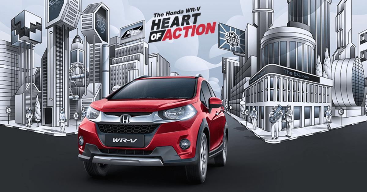 2019 Honda WR-V Launched; Gets a New Mid Spec V Variant